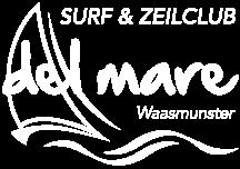 Logo Del mare negatief